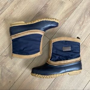SOREL Women's 9 Navy Blue Duck Boots!